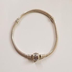 Iconic Silver Pandora Charm Bracelet